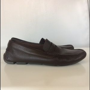 Santoni Other - SANTONI Tanton Pebble Driving Shoes/Moccasins