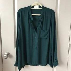 cloth & stone popover blouse