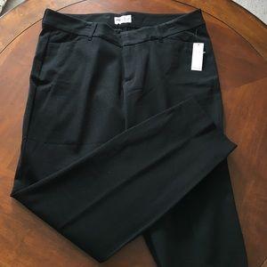 NWT Old Navy Women's Black Pixie Pants