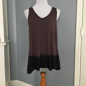 Free People V Neck Tank Top