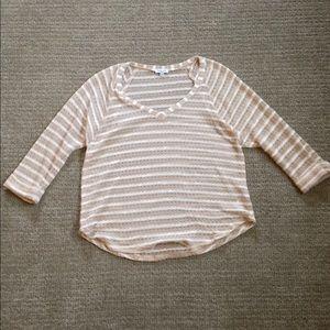 Anthro Splendid loose weave Sweater EUC
