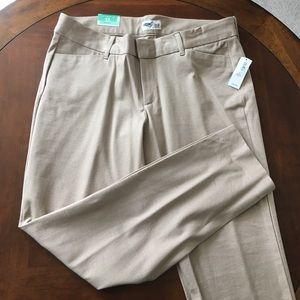 NWT Old Navy Women's Khaki Pixie Pants