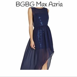 BCBG MAX AZRIA FORMAL DRESS!