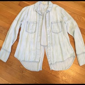 Cloth & Stone Chambray Shirt from Anthropologie