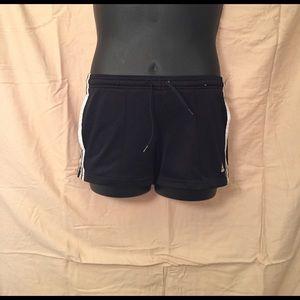 Adidas Pants - Adidas Black Running Shorts