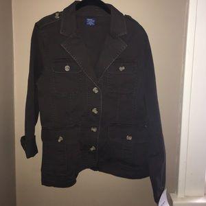 Jockey Jackets & Blazers - NWT Jockey P2P Brown Jacket