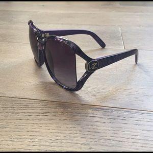 Von Zipper Accessories - Von Zipper Dharma Sunglasses Purple zebra