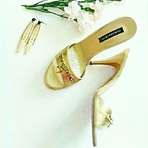Claudia Ciuti Shoes - Claudia Ciutti Heart Chain Sandals