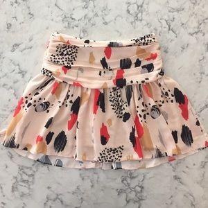 Paint Splatter Skirt