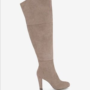 White House Black Market Shoes - Special Sale-SUEDE OVER-THE-KNEE BOOTS