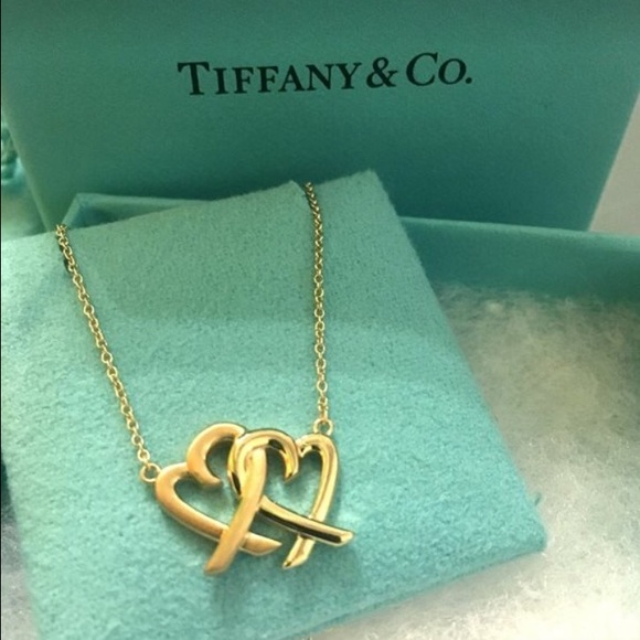 99f61a887 Tiffany & Co. Jewelry   Paloma Picasso Loving Heart Interlocking ...