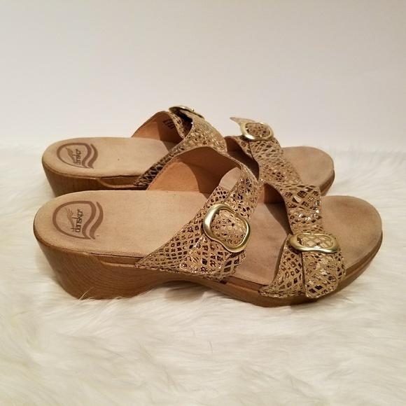 e8a48046ac9 Dansko Shoes - Dansko Sophie Beige Snake Sandals