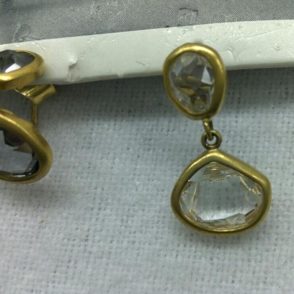 how to make simple drop earrings