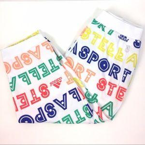 Adidas by Stella McCartney Pants - Adidas Stella McCartney Fleece Capris Pants