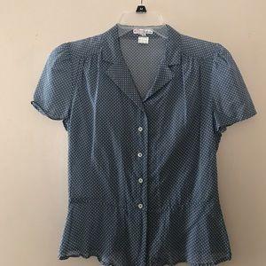 Michael Kors button up blouse
