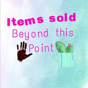 Other - Items sold beyond this point