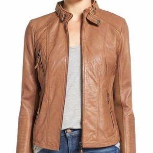 Bernardo Jackets & Blazers - Bernardo Faux Leather Jacket