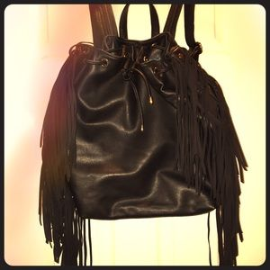 Deux lux fringe Backpack