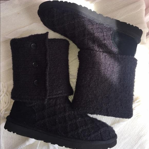 1a0584ff89e UGG Australia Black Boots. Women's size 9.