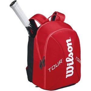Wilson Handbags - Wilson Tour Small Backpack Red Molded
