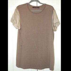 AllSaints Military Grey Casual Top T Shirt 2 10