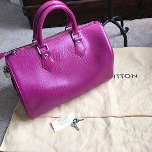 Louis Vuitton Handbags - Authentic Louis Vuitton Epi Speedy 30.