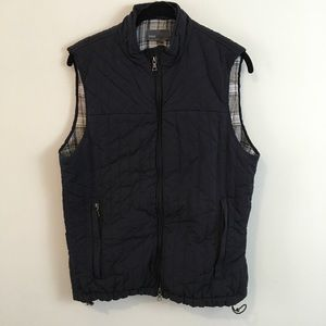 Vince Quilted Sleeveless Vest Jacket