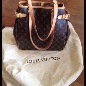 Louis Vuitton Handbags - Louis Vuitton Batignolles Vertical Tote Bag Purse