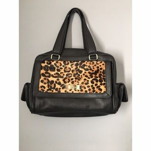 Kate Landry Satchel with Leopard
