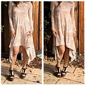 Classic Woman Dresses & Skirts - ERIN PAISLEY LONG SLEEVE DRESS BNWT