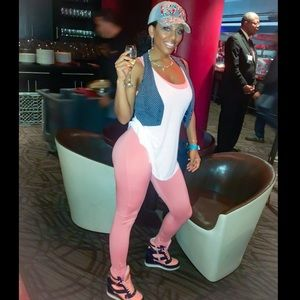 c037784e41 Callie Lives Pants - 🚨LAST🚨Peachy Pink Catsuit Romper Jumper Jumpsuit