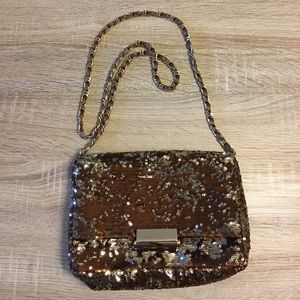 Reiss Handbags - REISS Sequin Crossbody Bag