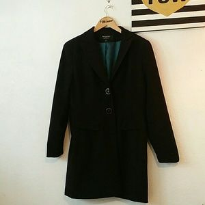 ⬇️LARRY LEVINE SIGNATURE CAREER LONG BLACK JACKET