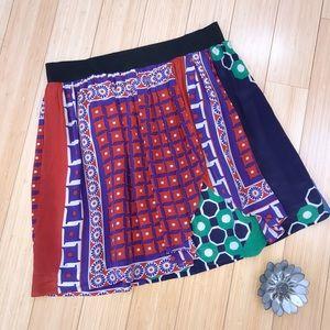 Anthropologie silk skirt, S.