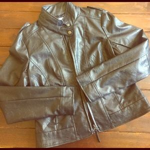 ModCloth Faux Leather Jacket