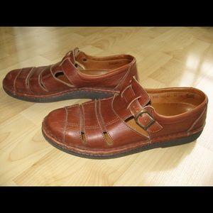 Josef Seibel Other - Josef Seibel Brown Leather Sandals