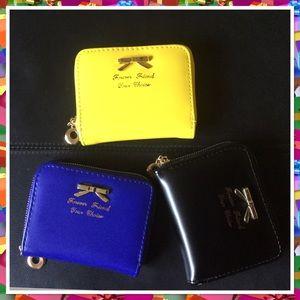Handbags - Bowknot zipper coin card holder wallet