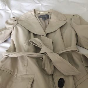 Gorgeous trench coat.