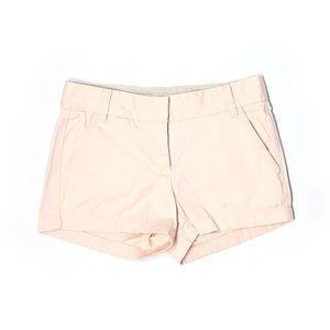 J. Crew light pink chino shorts