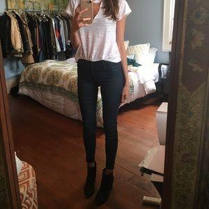 Black Orchid Denim - Black orchid skinny coated jeans
