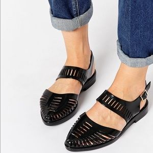 Melissa Shoes - Melissa+JasonWu Magda Jelly Sandal - Balck