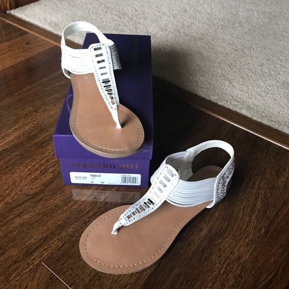 15fc049377d Brand New In Box - Madden Girl Trixie Sandals