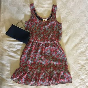 Mimi Chica Dresses & Skirts - Red and black cute dress