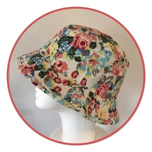 Boutique Accessories - Pastel Floral Bucket Hat, NWOT