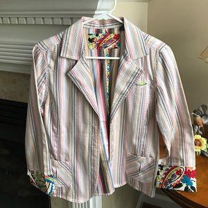 Robert Graham Jackets & Blazers - ❤️SALE Robert Graham Casual Multi Colored Blazer.