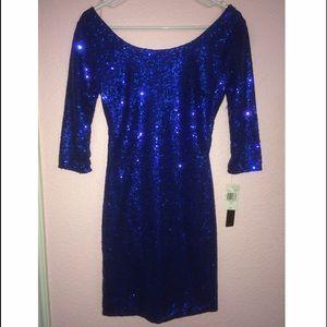 Blue Sequin Dress ❤️