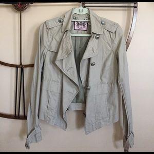 Juicy couture beige jacket