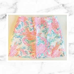 Lilly Pulitzer Pants - Lilly Pulitzer Marigold Skort in Getting Steamy