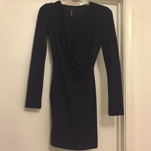 Lulus long sleeve mini dress