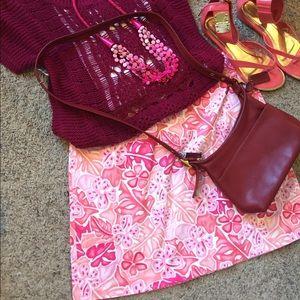 island company Dresses & Skirts - 💓Tropical Skirt 🌸 Island Republic Pink Stretch